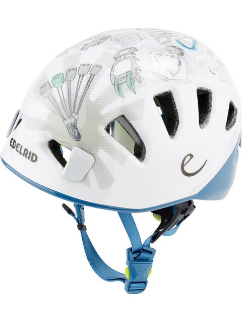 Edelrid Shield II Helm Kinderen wit